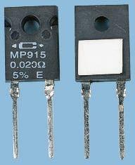 Caddock 2Ω Power Film Resistor 15W ±1% MP915-2.00-1%