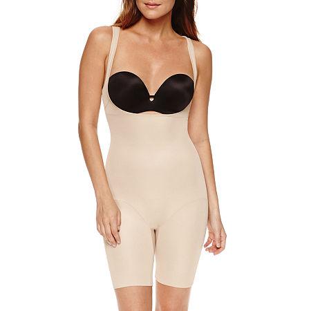 Ambrielle Wonderful Edge Wear Your Own Bra Singlet Firm Control Body Shaper - 129-3019, X-large , Beige