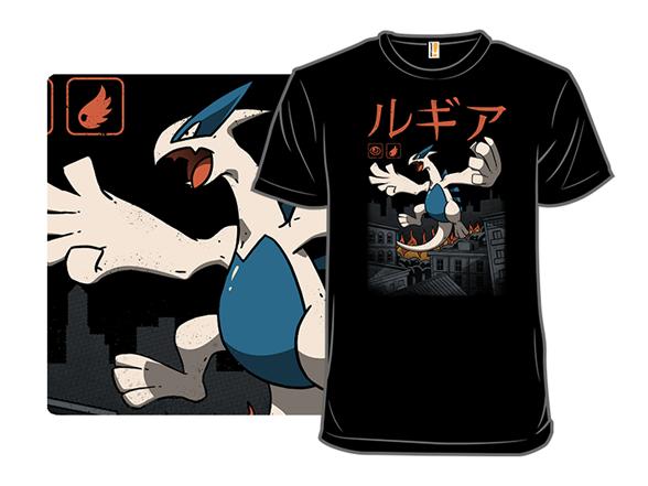 Legendary Psychic Flying Kaiju T Shirt