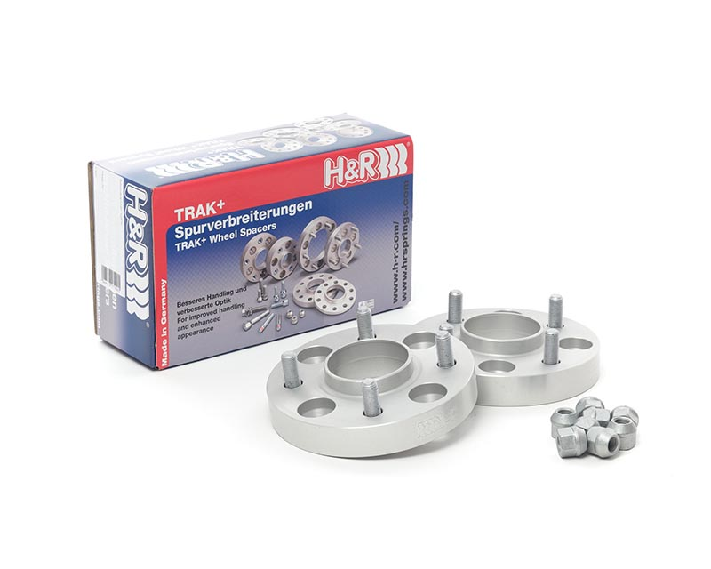 H&R 5035633 Trak DRA Series 25mm Wheels Spacer Pair Audi 100 2WD, AWD, Avant 84-90