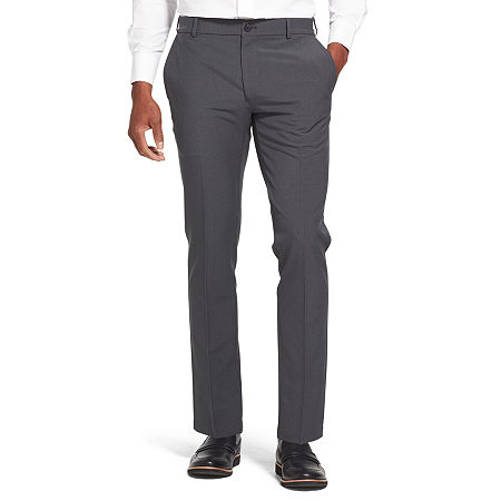 Van Heusen Flex 3 Slim Fit Dress Pant, 38 29, Black