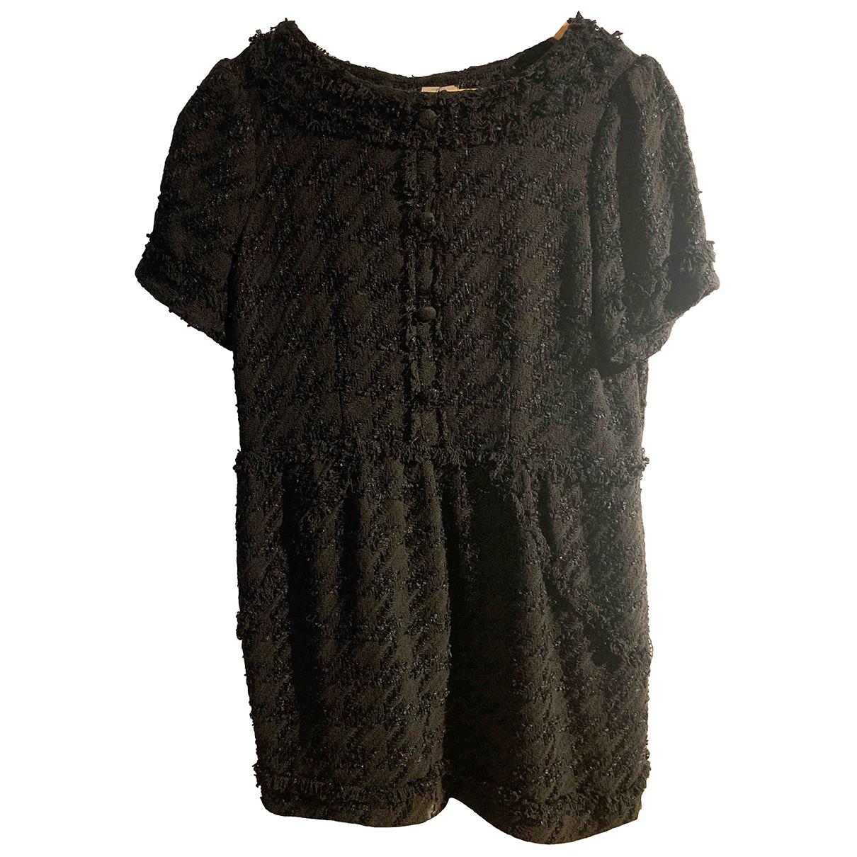 Uterque \N Black Cotton dress for Women L International
