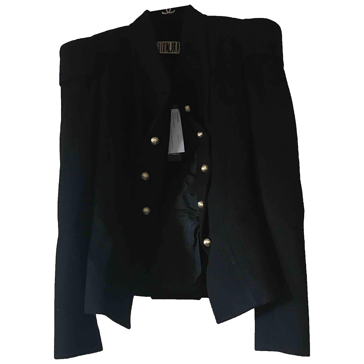 Maxime Simoens \N Black Cashmere jacket for Women 40 IT