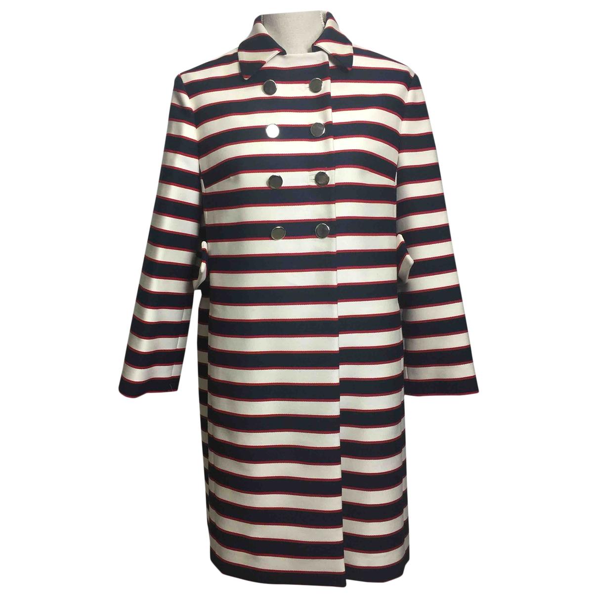 Valentino Garavani \N Multicolour Wool coat for Women 38 IT