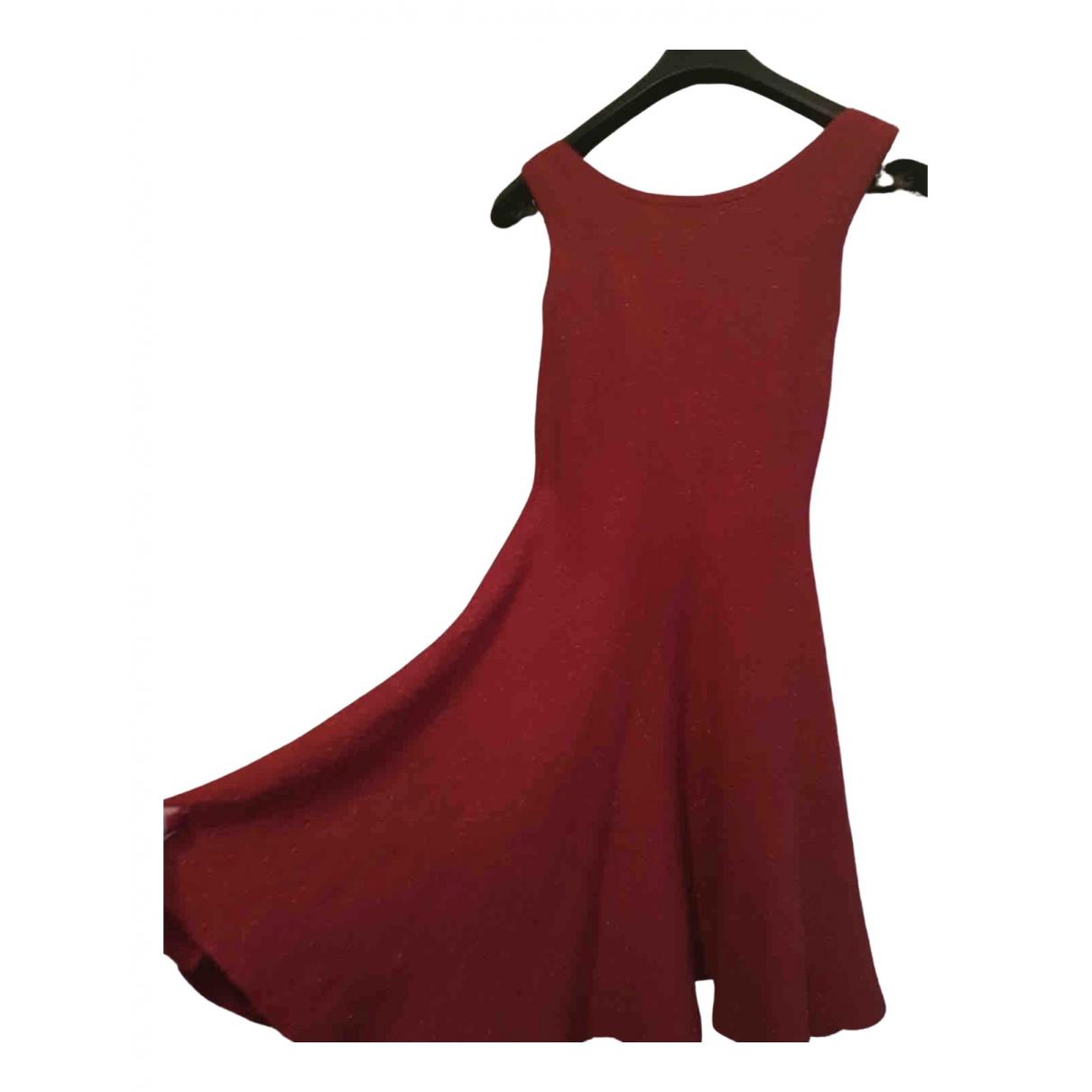 Alaïa \N Red Silk dress for Women M International