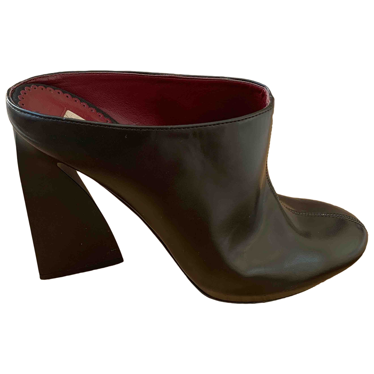 Stella Mccartney \N Black Cloth Sandals for Women 40 EU