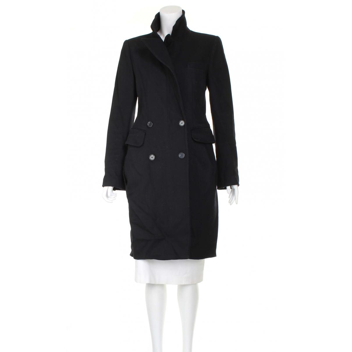 Carven \N Black Wool coat for Women 36 FR