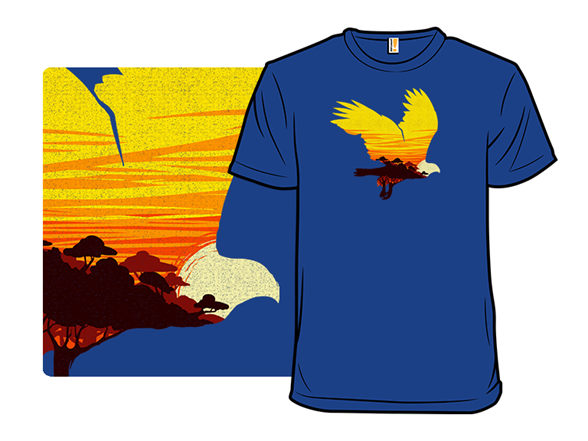 Stay Wild Eagle T Shirt