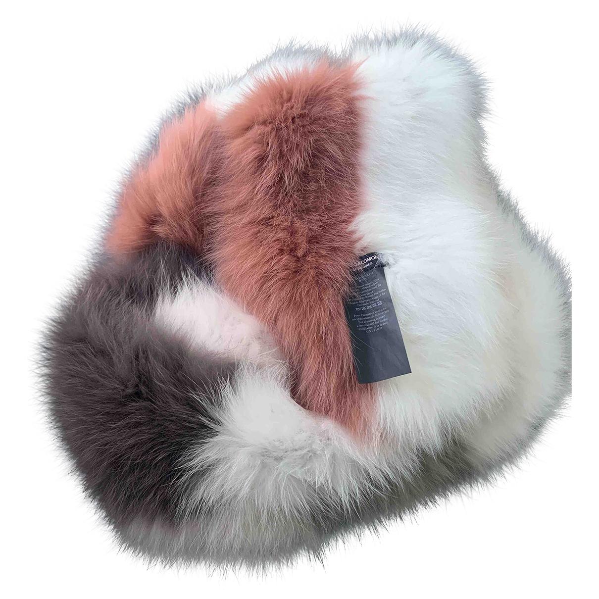 Yves Salomon \N White Fox scarf for Women \N