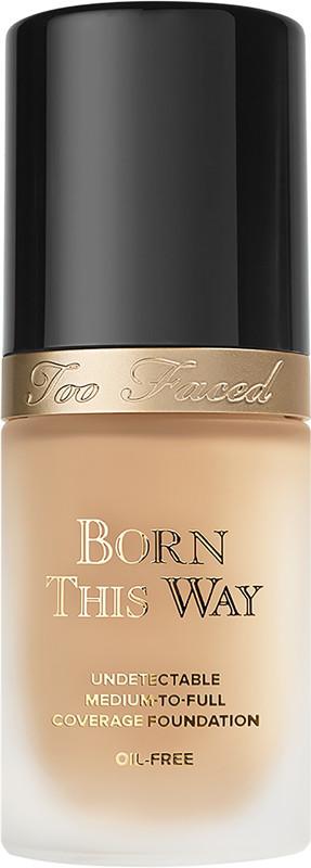 Born This Way Natural Finish Foundation - Natural Beige (light medium w/ neutral undertones)
