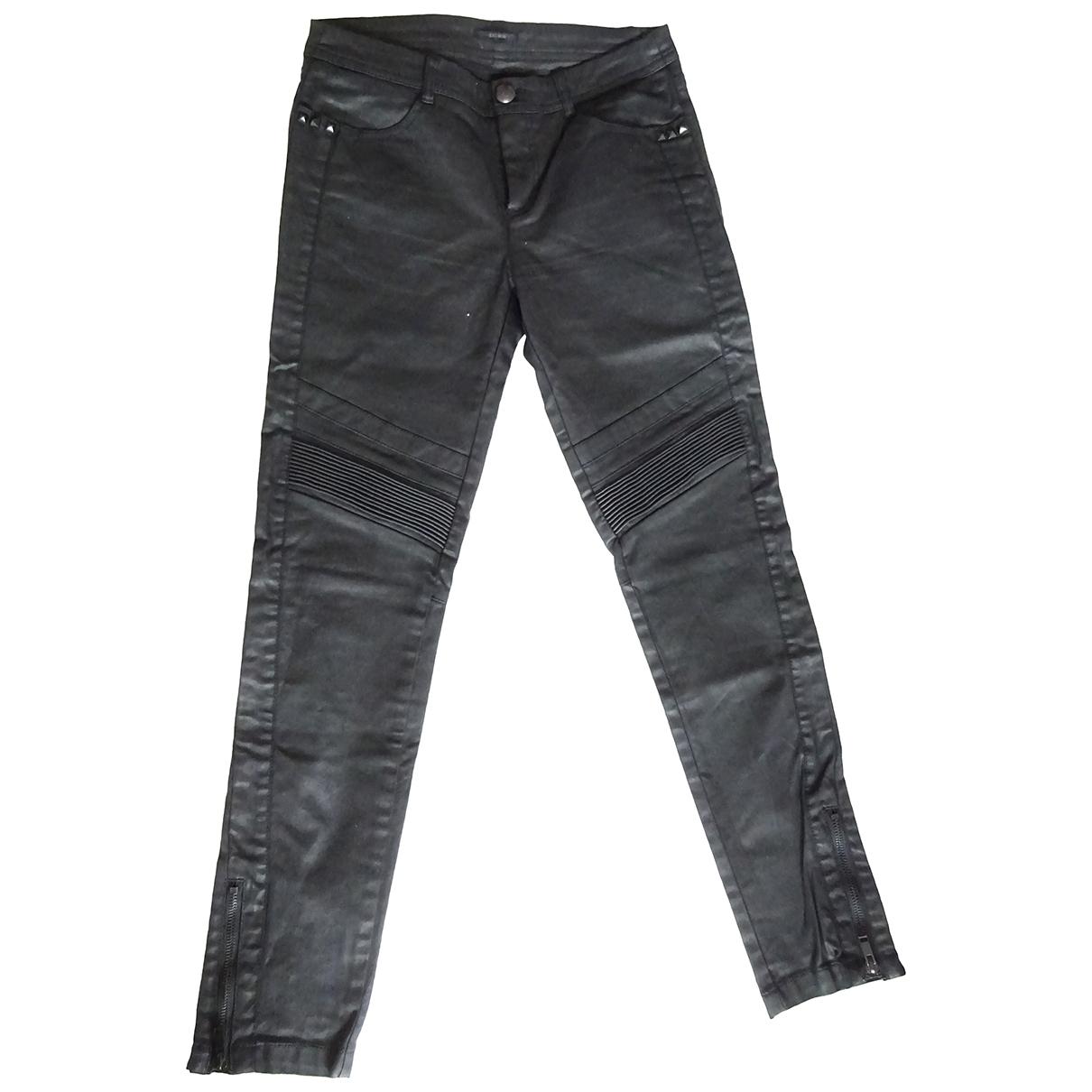 Ikks \N Black Trousers for Women 36 FR