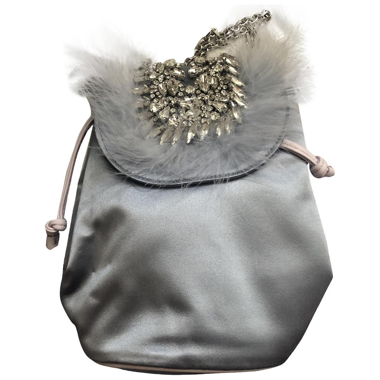Roger Vivier \N Blue Silk handbag for Women \N