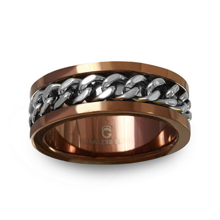6MM Stainless Steel Wedding Band, 10 , No Color Family
