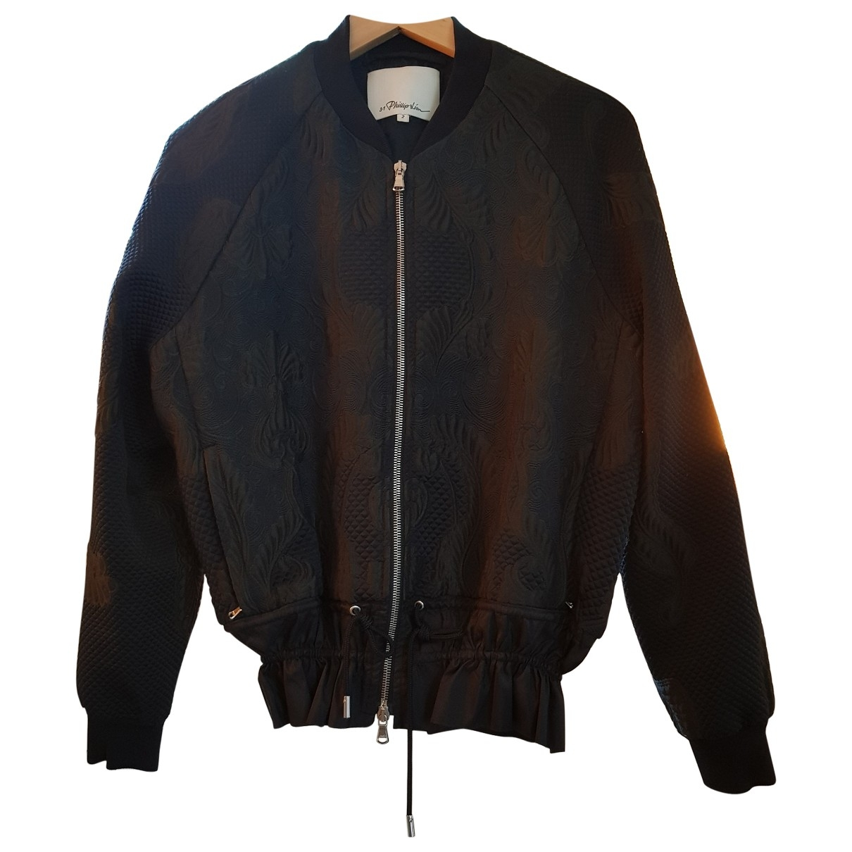 3.1 Phillip Lim \N Black Leather jacket for Women 36 FR