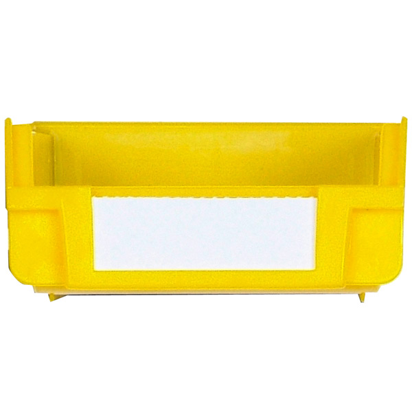 Triton Yellow Hanging, Nesting Bins with White Identification Lables, 30 Cnt