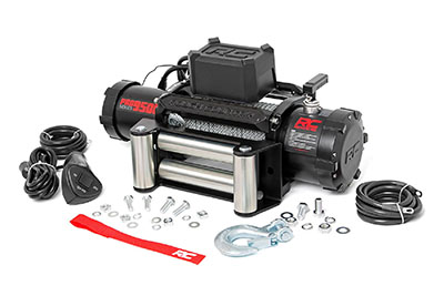 Rough Country 9500LB Pro Series Electric Winch with Steel Cable - PRO9500