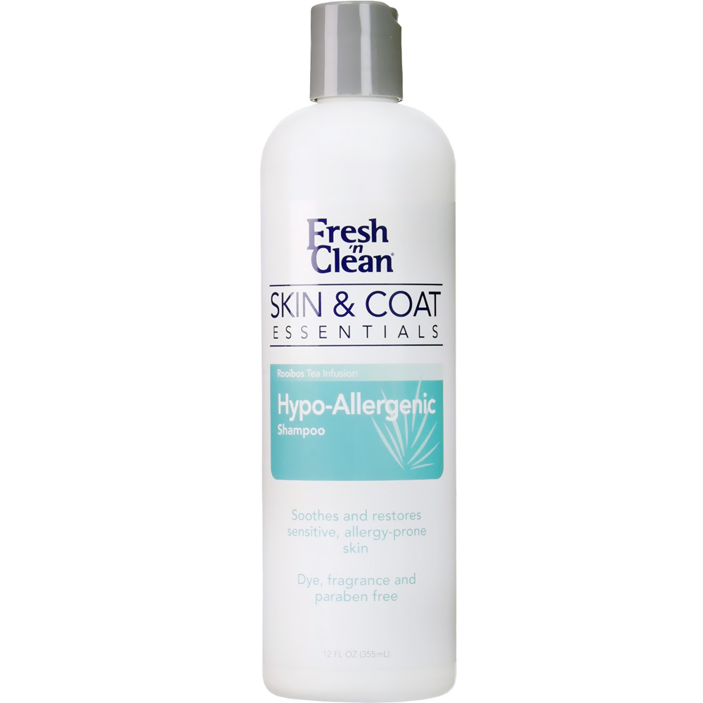 Fresh n' Clean Skin & Coat Essentials Hypo-Allergenic Shampoo (12 fl oz)