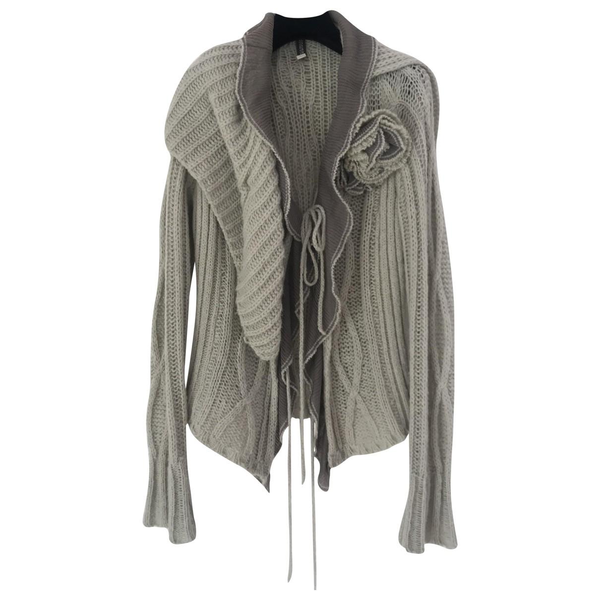 Ermanno Scervino \N Green Wool Knitwear for Women 42 IT