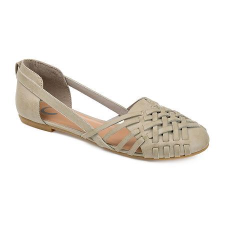 Journee Collection Womens Ekko Slip-On Shoe, 10 Medium, Gray