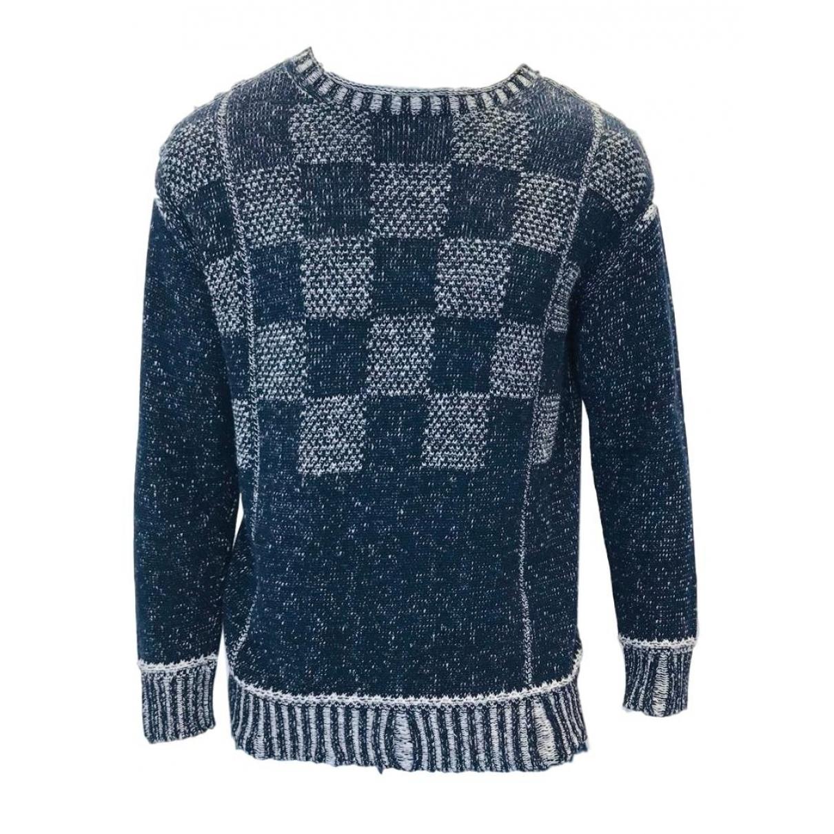 Junya Watanabe \N Blue Cotton Knitwear & Sweatshirts for Men S International