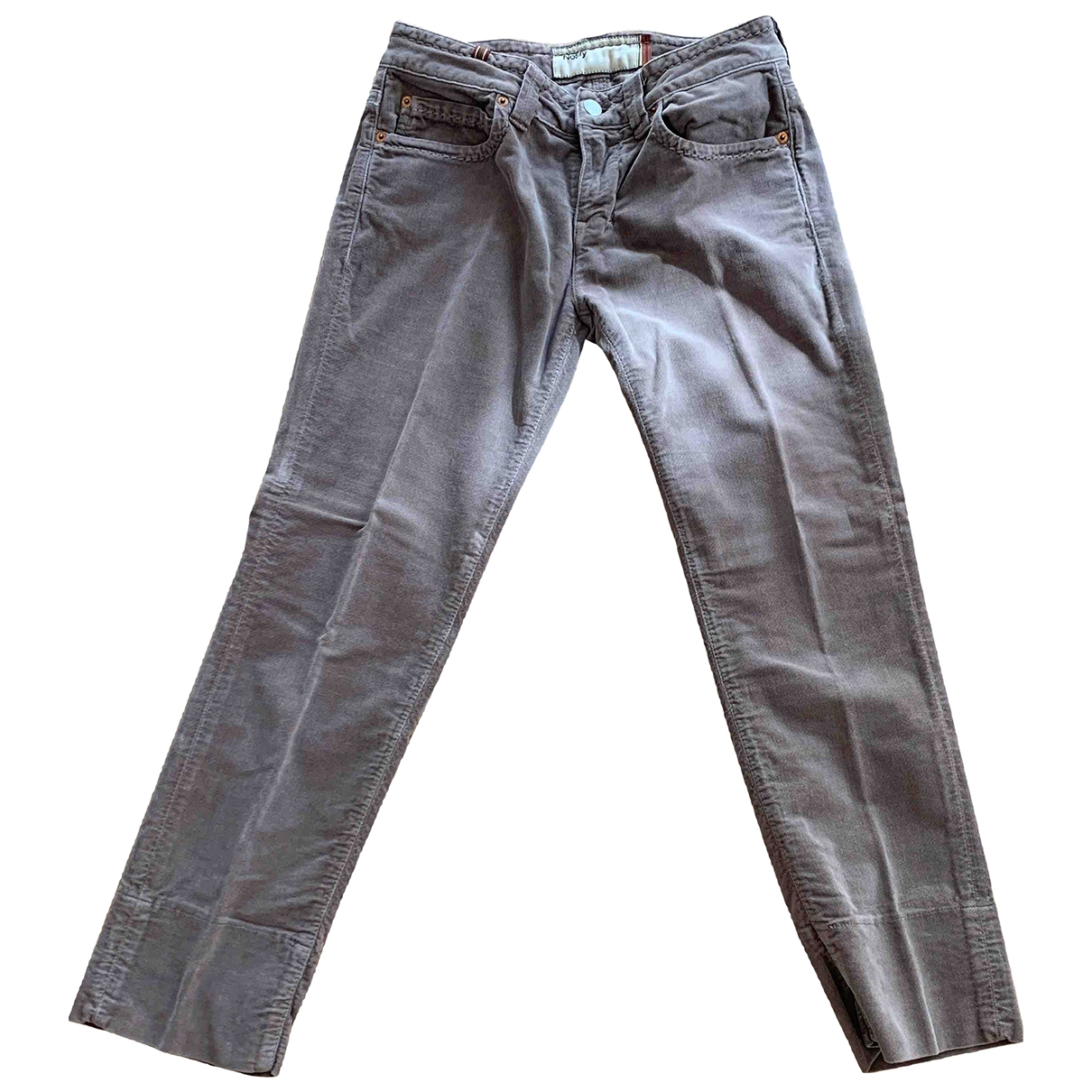 Notify \N Brown Cotton - elasthane Jeans for Women 28 US