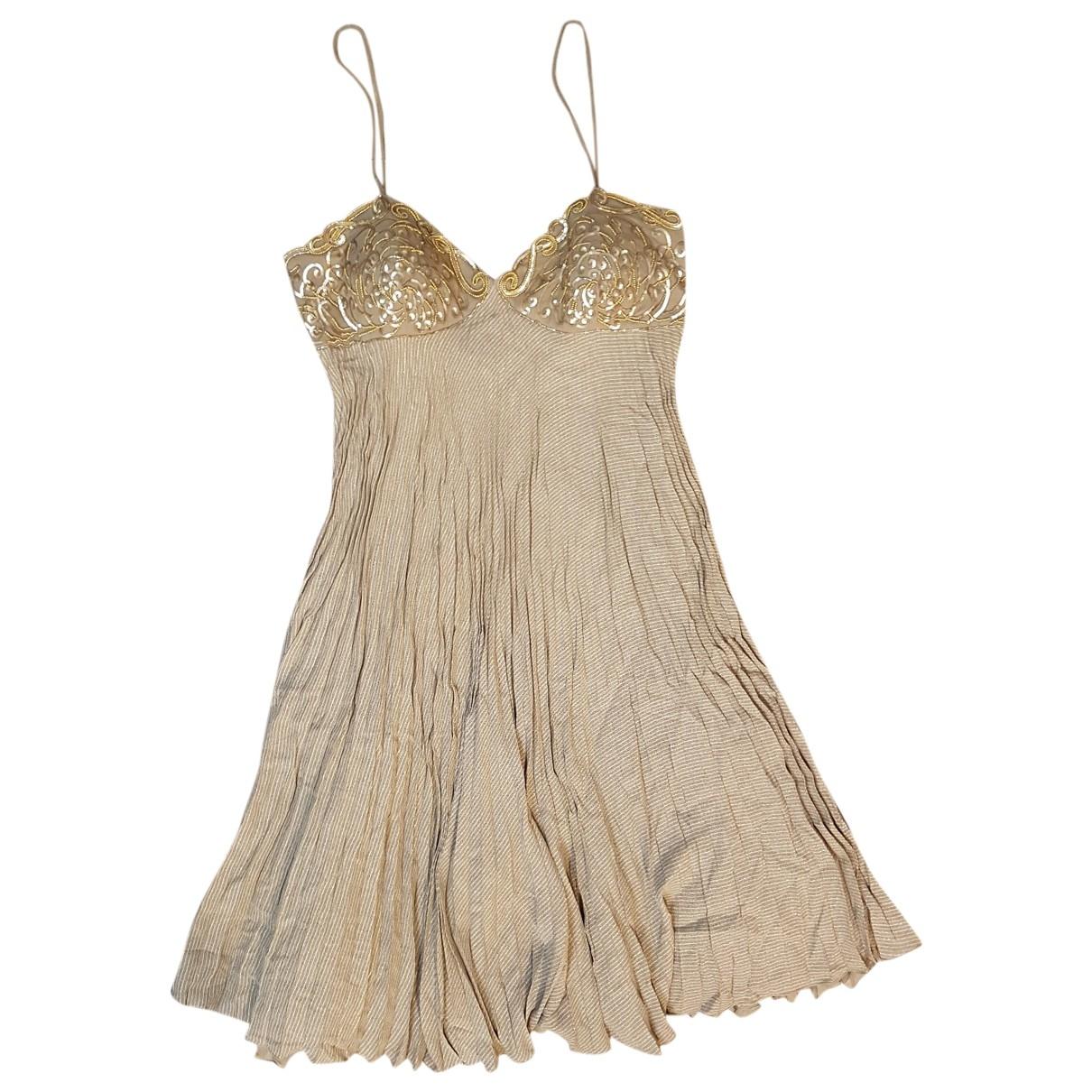 Valentino Garavani \N Beige dress for Women 44 FR