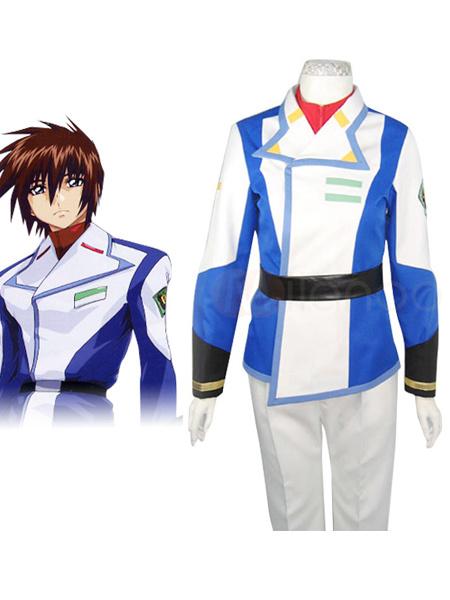 Milanoo Gundam Seed Kira Yamato Cosplay Costume Halloween