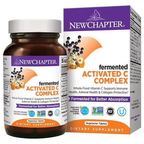 Activated C Food Complex 90 Tabs by New Chapter