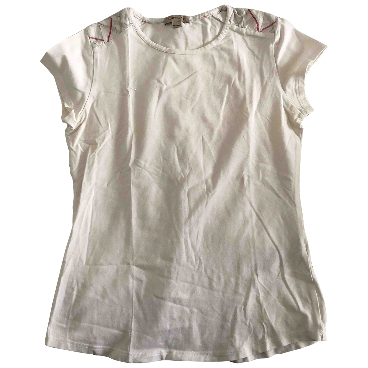 Burberry \N White Cotton  top for Kids 14 years - S FR