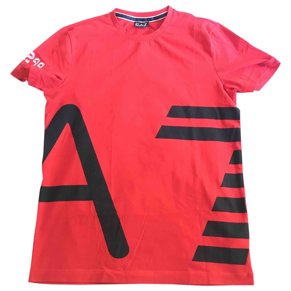 Emporio Armani \N Red Cotton T-shirts for Men L International