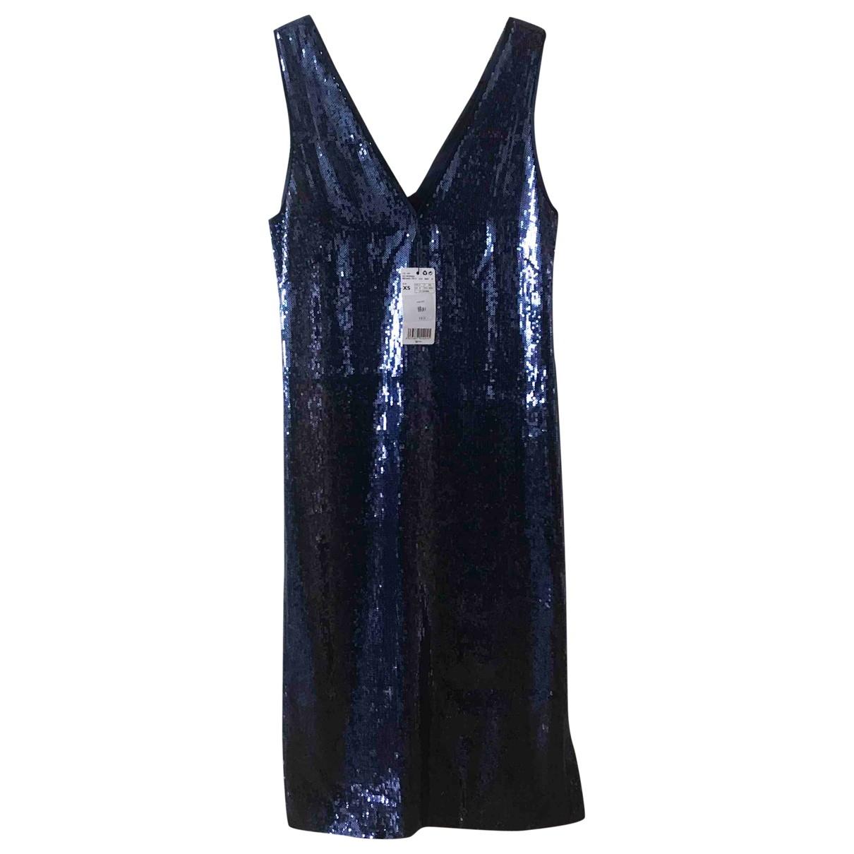 Mango \N Navy dress for Women XS International