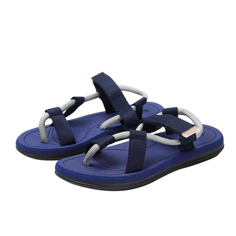 Ericdress Velcro Low-Cut Upper Flat Heel Toe Ring Sandals