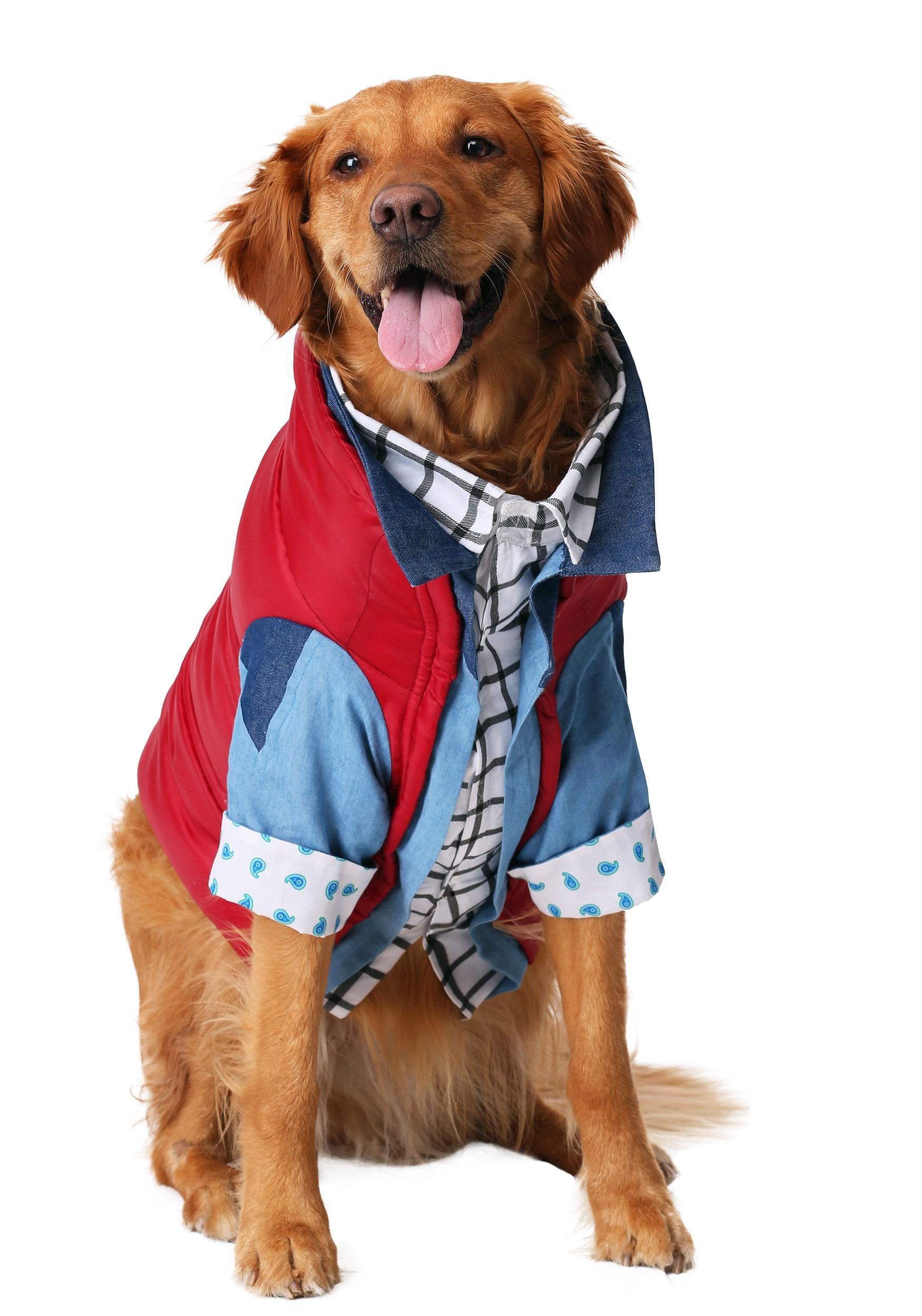 Marty McFly Dog Costume