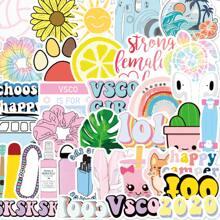 50pcs Cartoon Girl Sticker