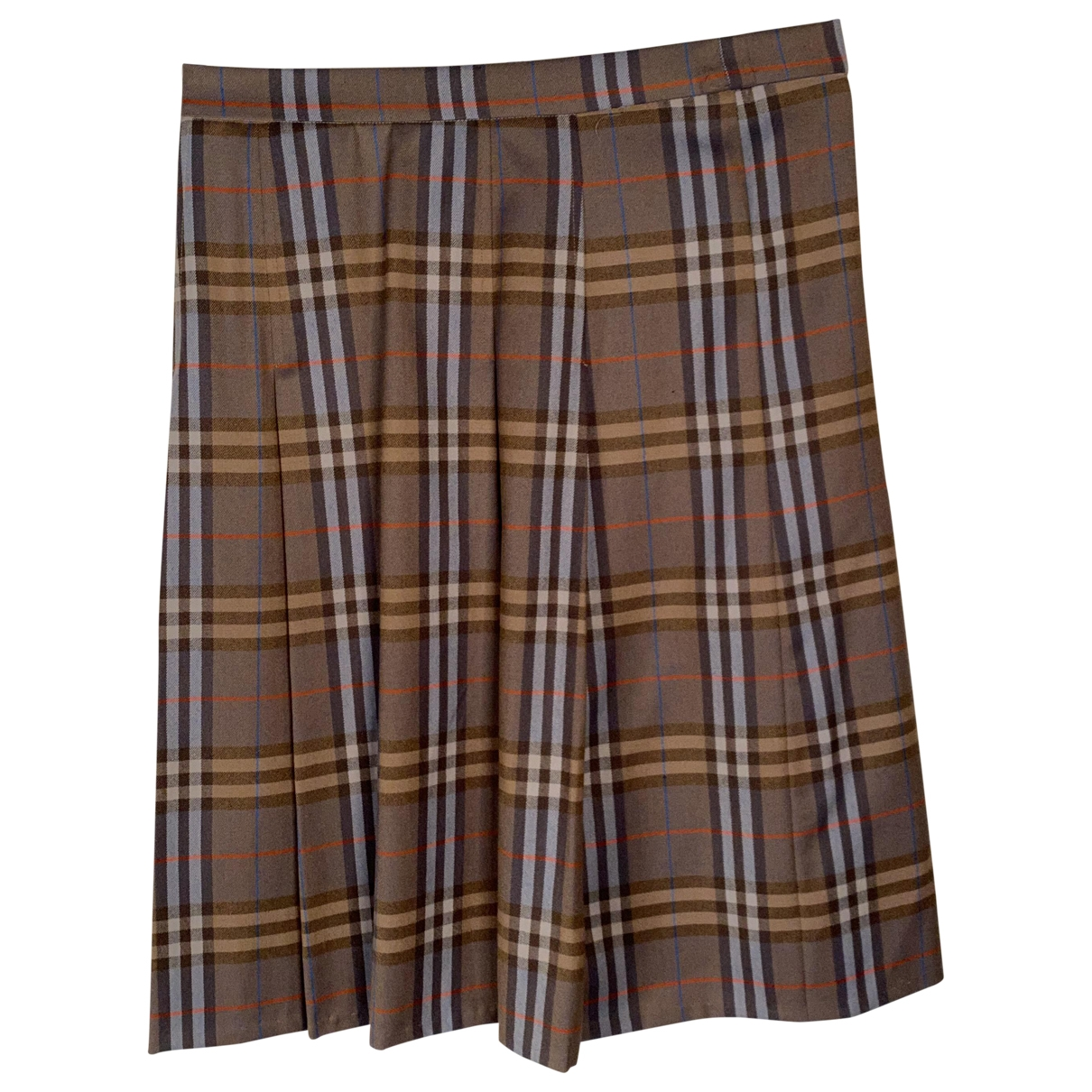 Burberry \N Beige Wool skirt for Women M International