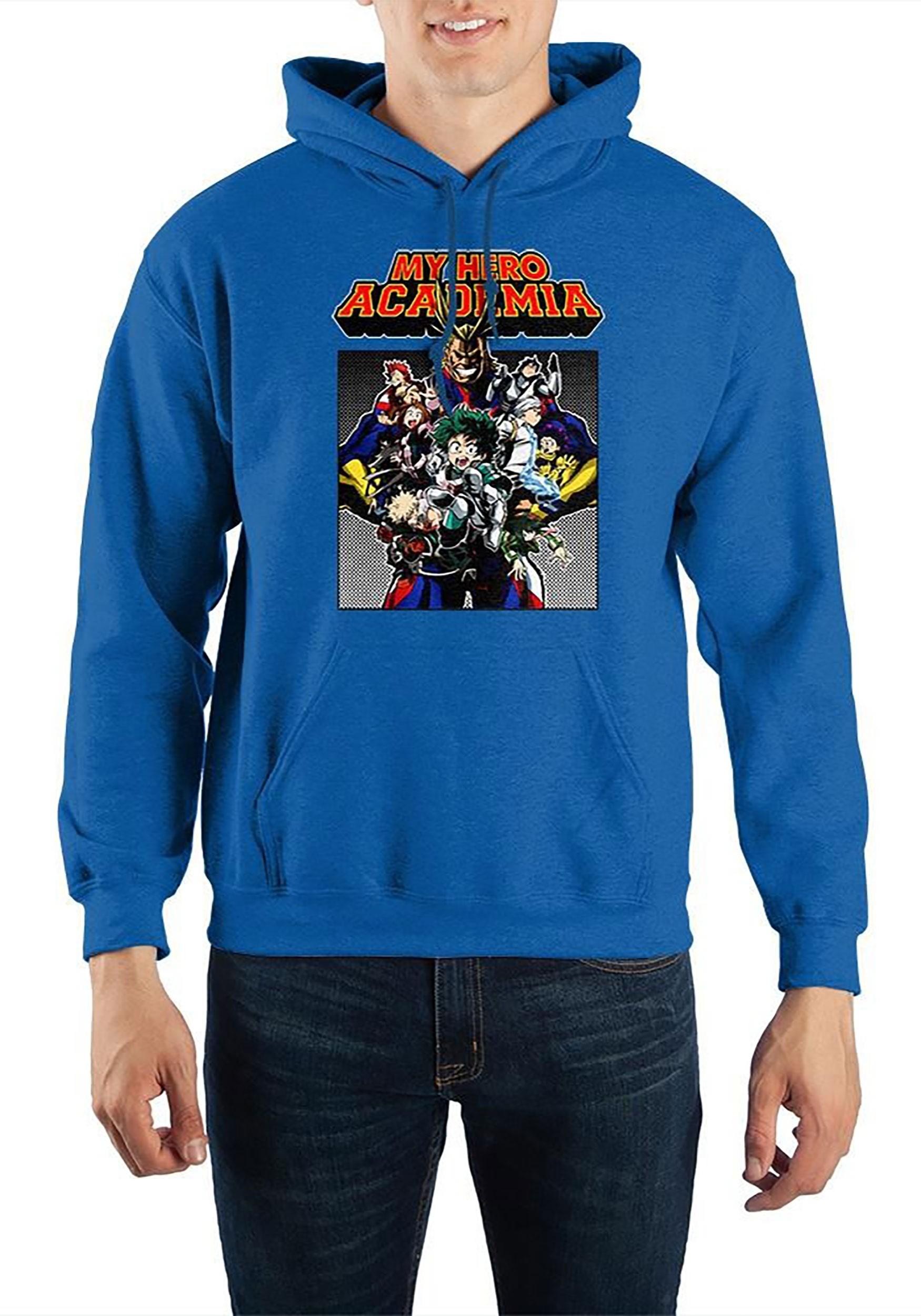 Adult My Hero Academia Hooded Sweatshirt