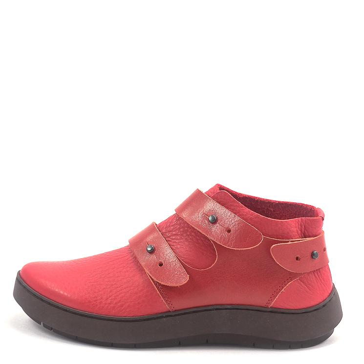 Trippen, Hint Swan Women's Slip-on Shoes, red Größe 36