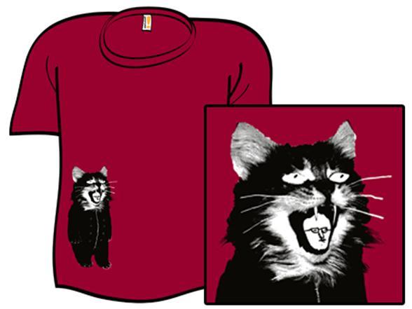 L'homme À L'intérieur Du Chat T Shirt