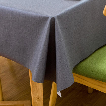 Table Cover Tablecloth Rectangle Vinyl Heavy Weight Oil-proof Waterproof 1.37*2.15M - LivingBasics™