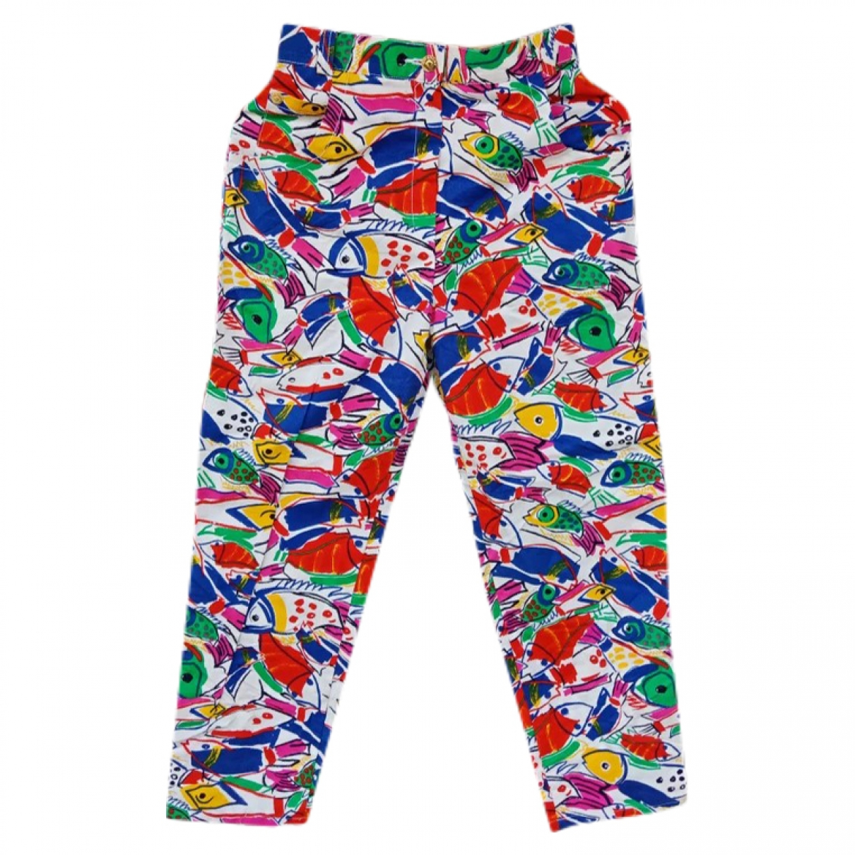 Givenchy \N Multicolour Cotton Trousers for Women One Size International