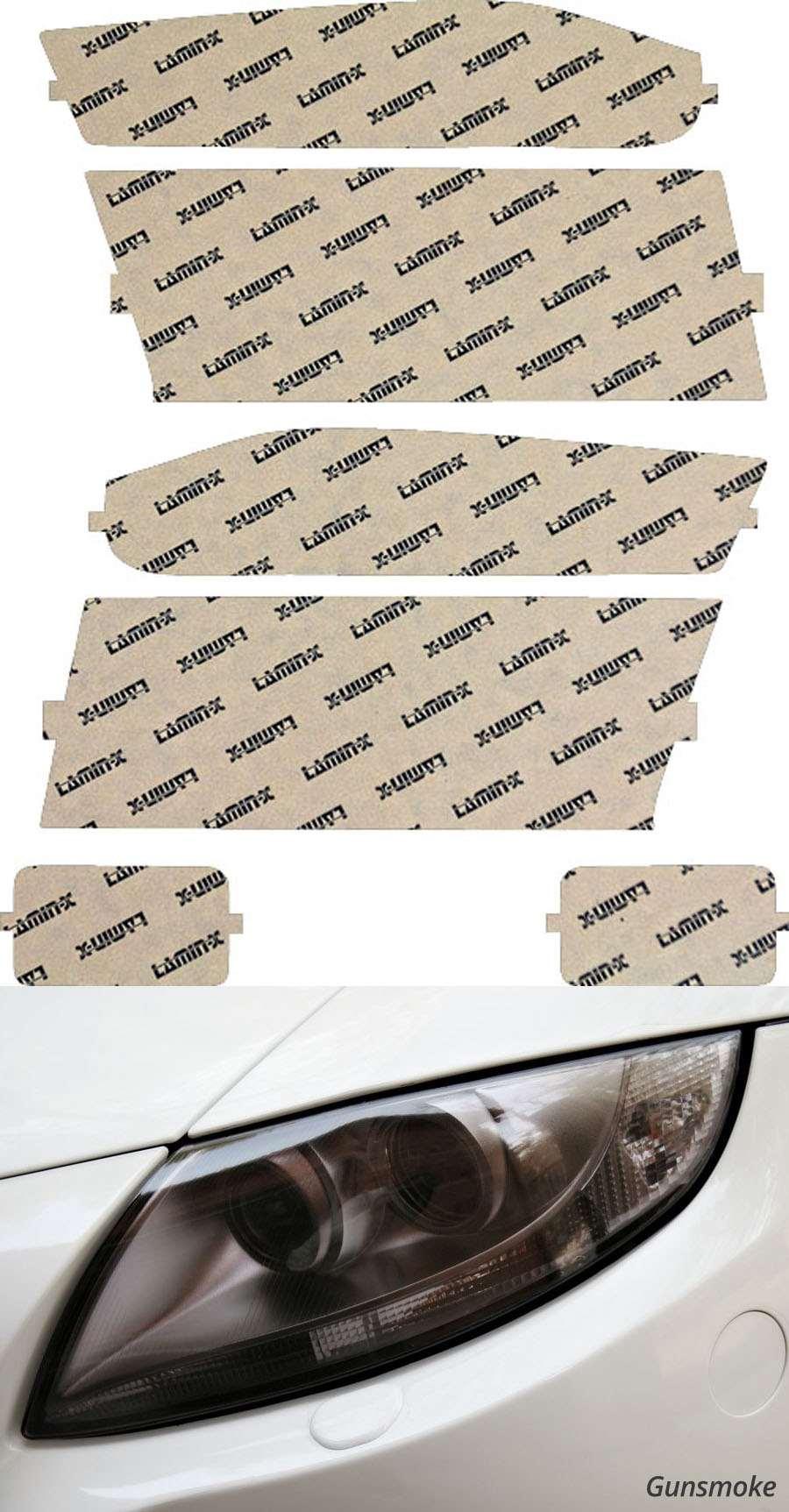 Chevrolet Colorado 04-12 Gunsmoke Headlight Covers Lamin-X CH010G