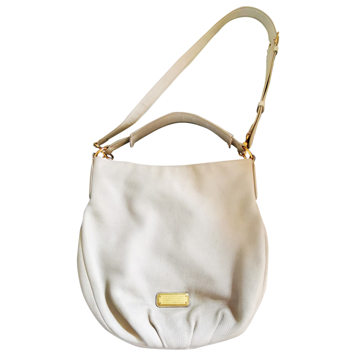 Marc By Marc Jacobs Too Hot to Handle Beige Leather handbag for Women \N