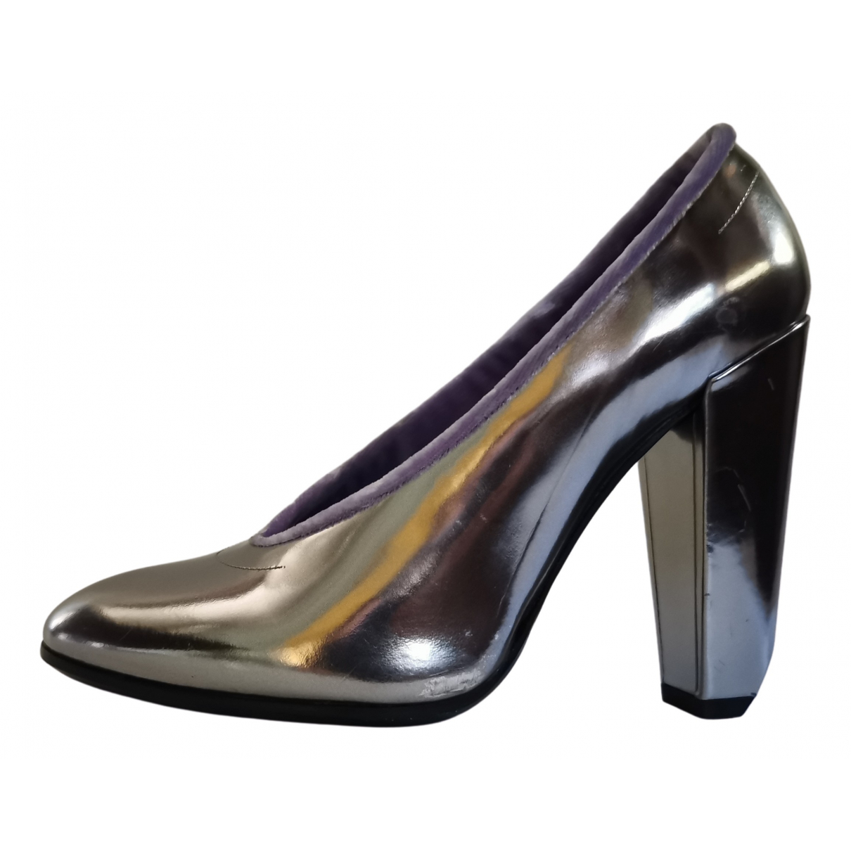 Marc Jacobs \N Silver Leather Heels for Women 36 EU