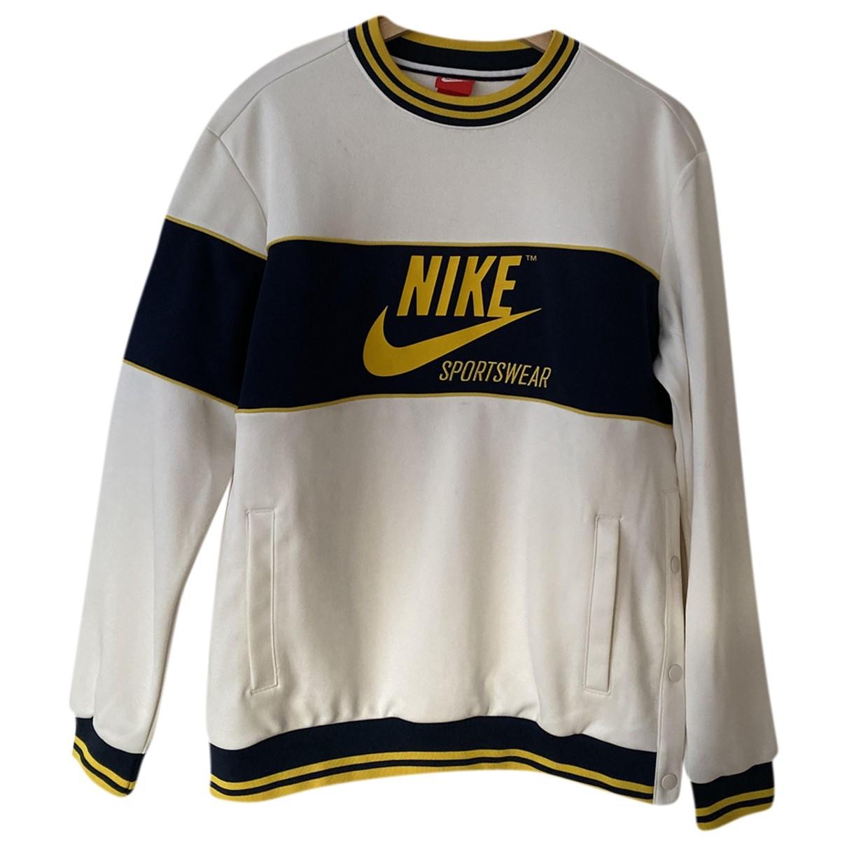 Nike \N White Knitwear & Sweatshirts for Men M International