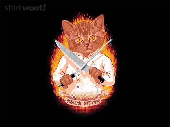Hell's Kitten T Shirt