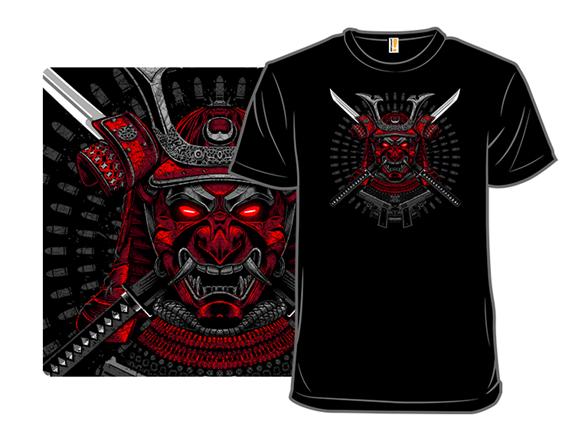 Red Samurai T Shirt