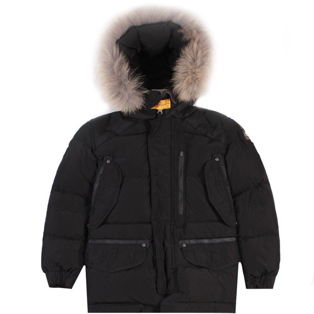Parajumpers Kids Harraseeket Jacket Black Colour: BLACK, Size: 8 YEARS