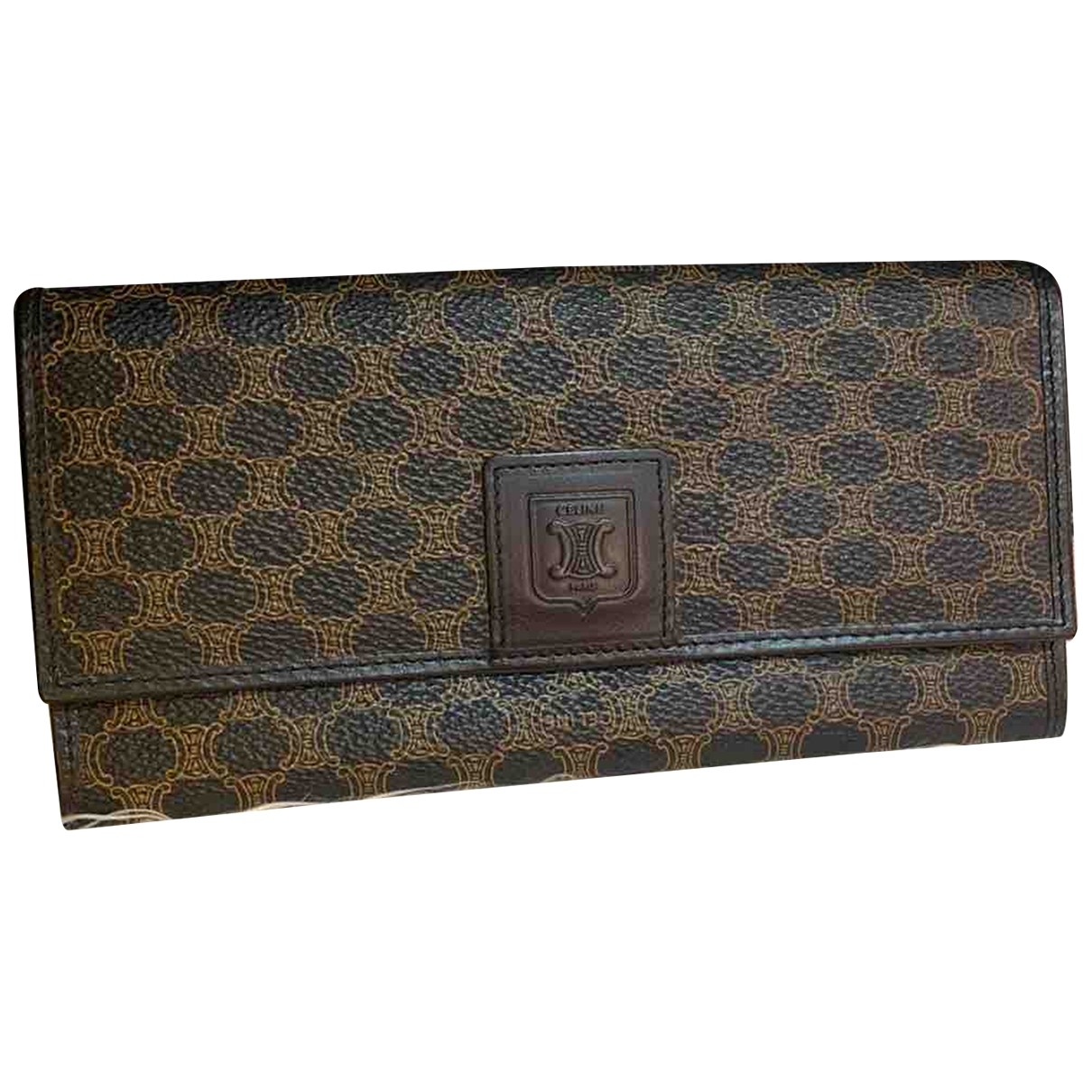 Celine \N Black Cloth wallet for Women \N