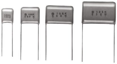 Panasonic 68nF Polyester Capacitor PET 400V dc ±5%, Through Hole (25)