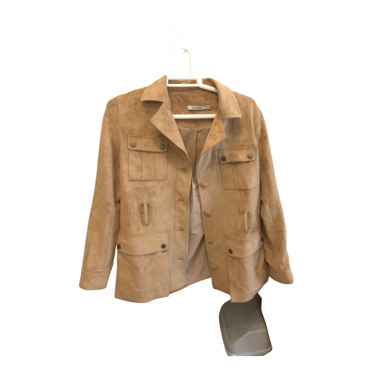Non Signé / Unsigned \N Camel Suede jacket for Women M International